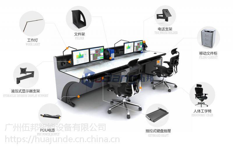 连云港无线中转调度台 工程接警席位 智能中控台