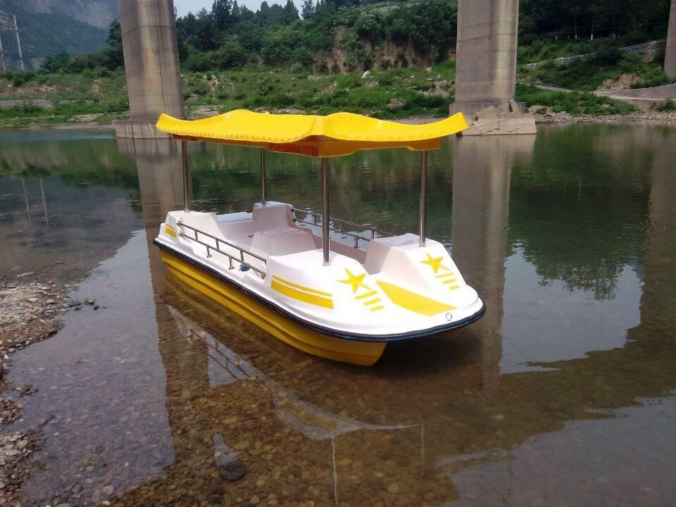 大量供应2018年新款脚踏船电动艇