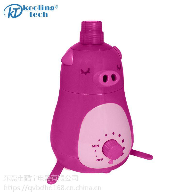 出雾器2个,水箱容量1升以下【爆款可爱小猪加湿器】制造工厂