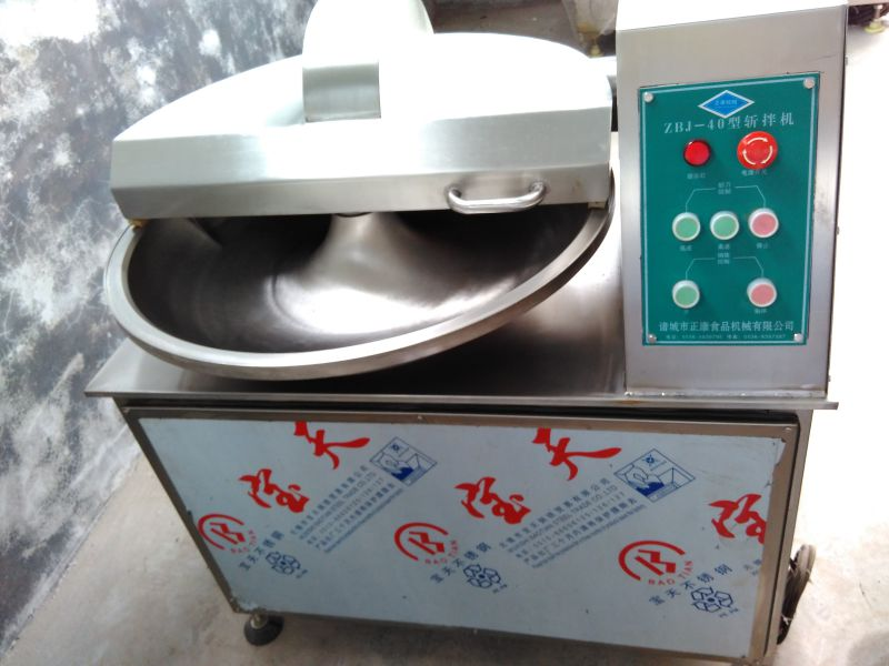 诸城正康食品机械供应ZB-1500肉类高速斩拌机 大型变频斩拌设备 可定制