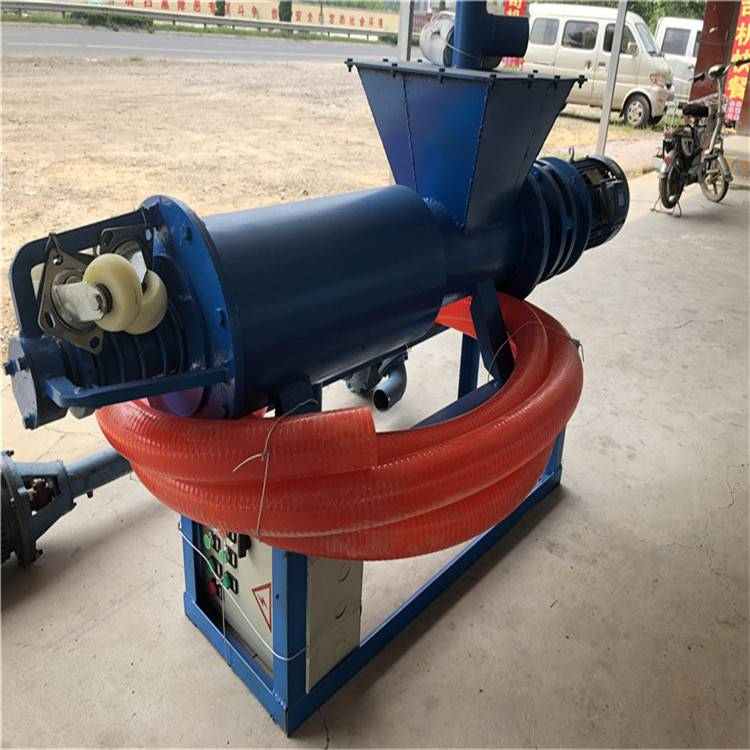 干猪粪生产设备 猪用干湿分离机 养猪场粪污处理机器