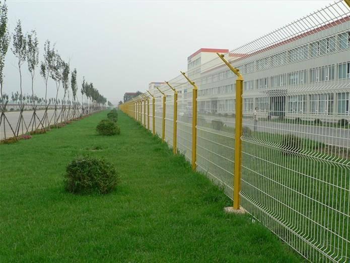 加工定做旅游观光区护栏网 广州厂区双圈护栏网 韶关道路围栏网