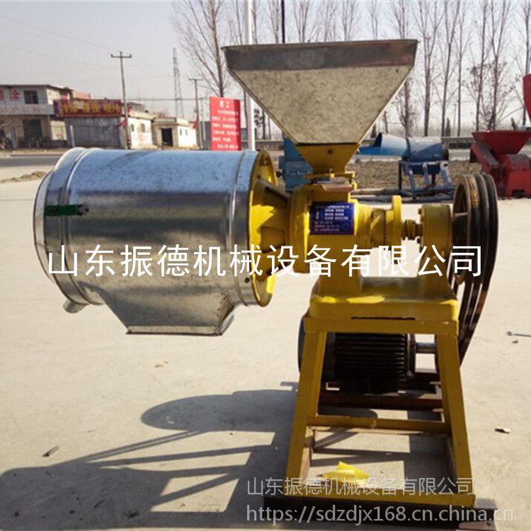 全自动五谷杂粮磨面机 商用大型磨面机 小型荞麦面粉机 振德热销