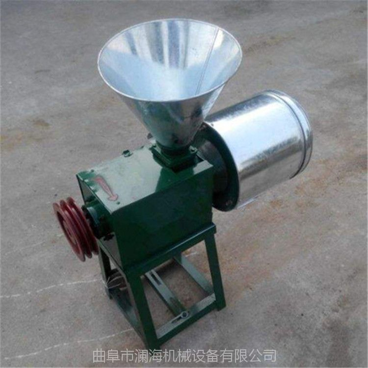 小型家用研磨辣椒大料会想磨面面粉机 面粉机价格