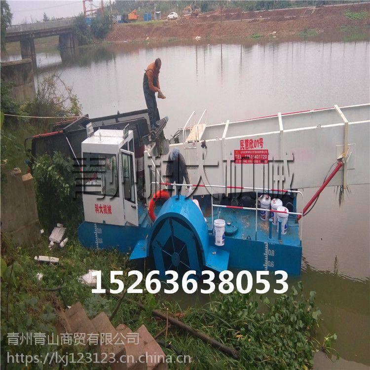 水葫芦打捞船哪家好、 清理水面漂浮垃圾环保工程船