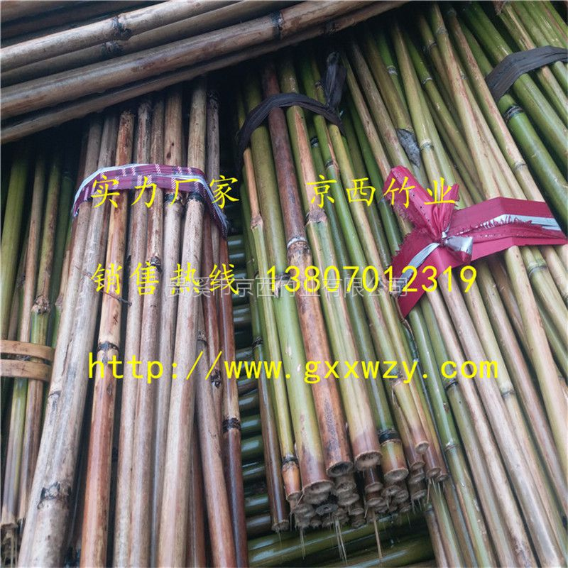 大量供应2米5,3米优质江西菜架竿