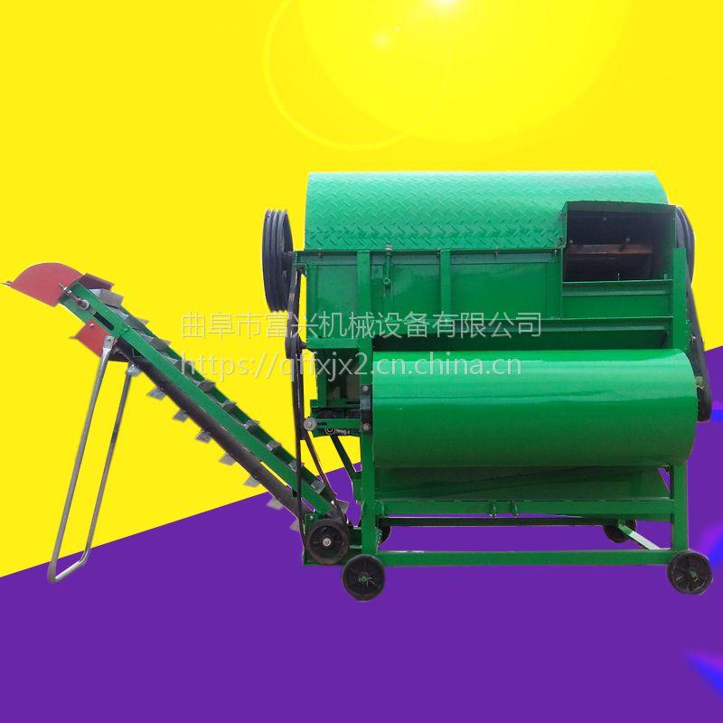 大产量花生摘果机 富兴牌果子专用分离机 脱秧机型号