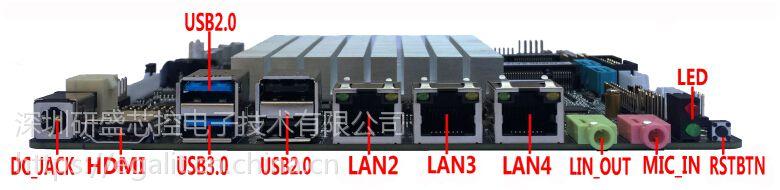 BT-3L/BT-4L 多网口主板
