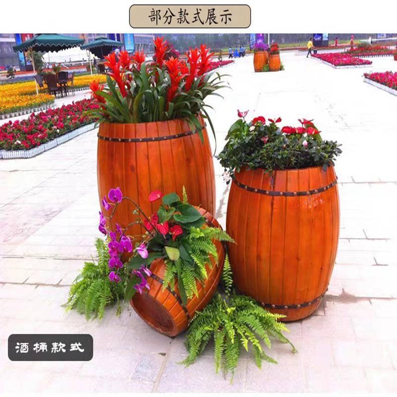 厂家直销小区花箱沧州奥博体育器材,防腐木花箱规格型号,欢迎咨询