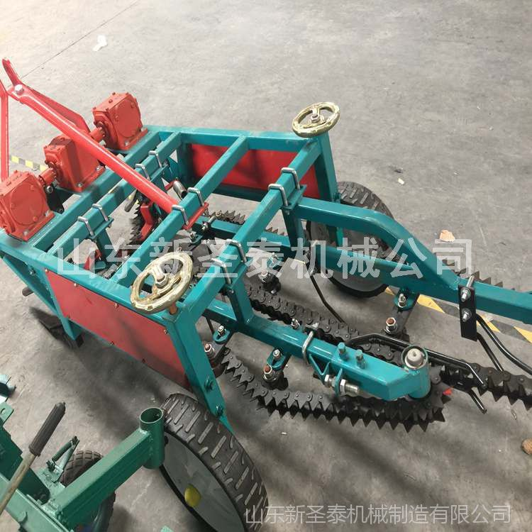 花生链条式不缠秧花生收获机 拖拉机带花生收割机不留果产量高