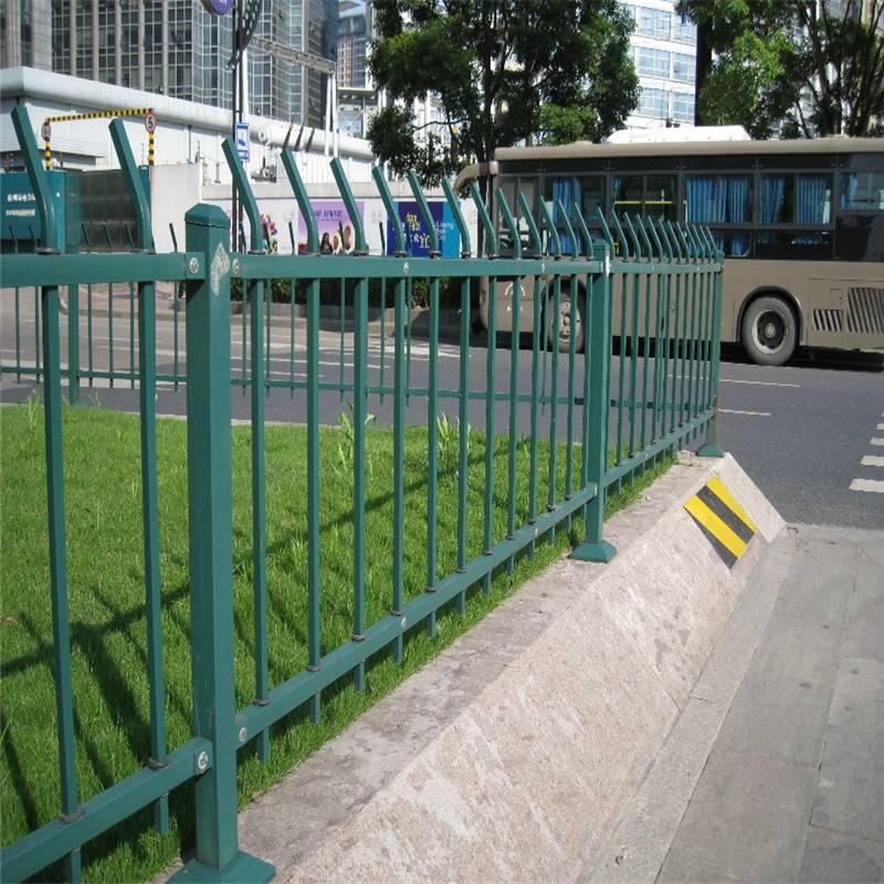 美好乡村建设草坪护栏 新农村建设塑钢栏杆 大学校园绿化带护栏