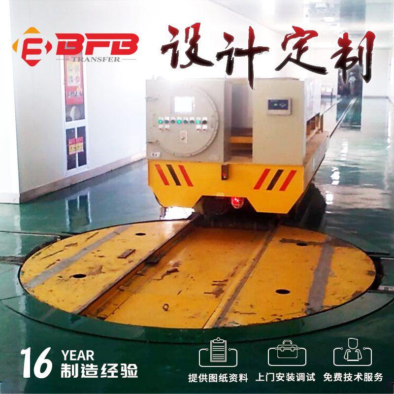 PLC控制低压轨道供电摆渡车 自动化运行液压升降车