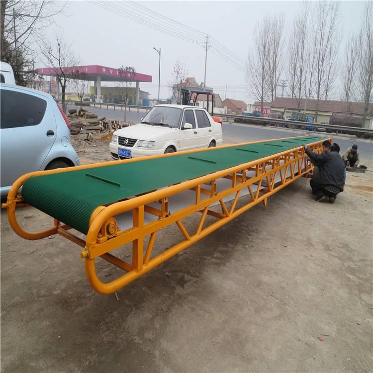 低价生产输送机 电动滚筒皮带机 电动升降带式输送线