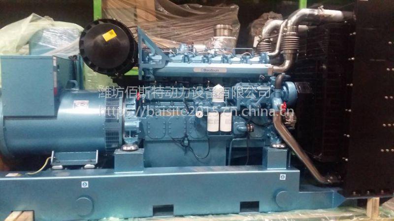 潍柴博杜安400KW柴油发电机组 6M26电调 企业工厂备用应急电源