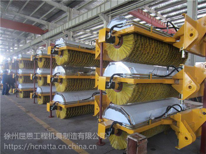 扫雪车价格 HCN屈恩机具扫雪车配滑移装载机 装载机 除雪机厂家