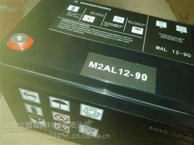 温州梅兰日兰蓄电池M2AL12-40规格参数及价格