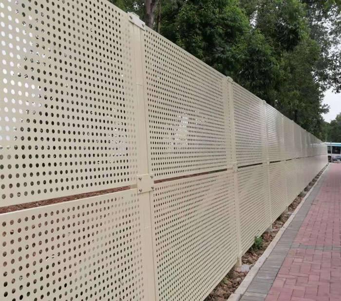 优质装饰护栏网价格 珠海工地围栏厂 江门冲孔板防风围挡