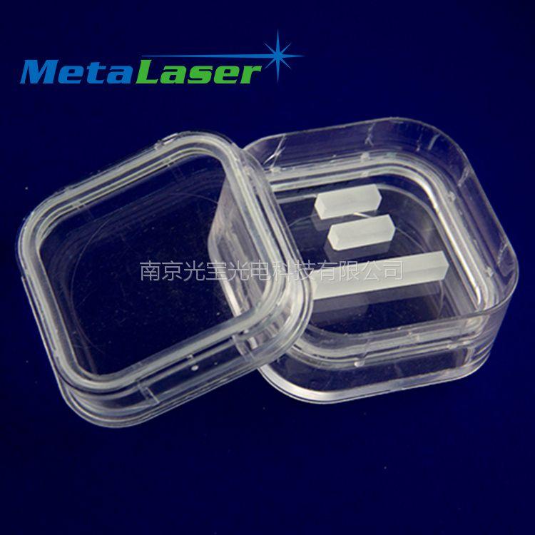 BBO晶体 偏硼酸钡晶体 非线性晶体 抛光片 毛坯片 可订制