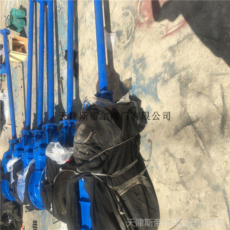 MZ45X-16 地埋闸阀 加长杆弹性座封闸阀 球墨铸铁厂家直销