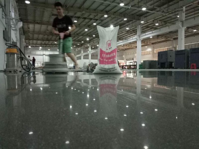 惠州车间地板起灰处理-旧地坪翻新