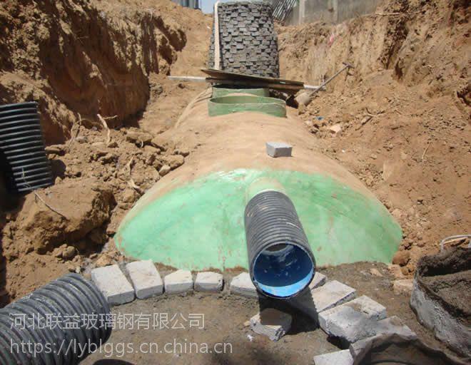 河北联益供应科尔沁霍林河开鲁玻璃钢化粪池厂家没有中间商