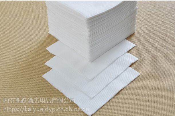 酒店餐厅透明袋装餐巾纸