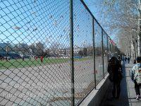 张家口篮球场护栏网生产高度4米安装施工业务