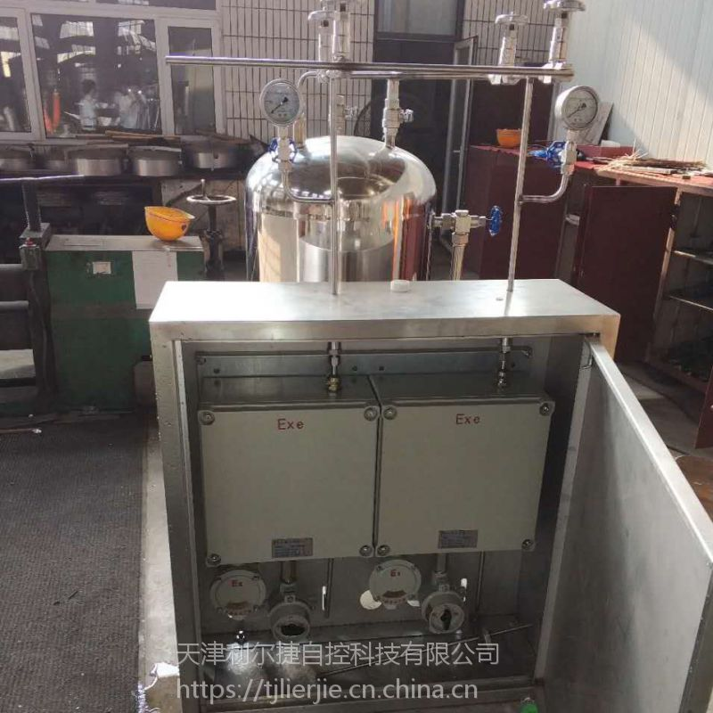 双泵自动天然气加臭机 燃气设备 燃气加药装置 气化器LJ-2A90