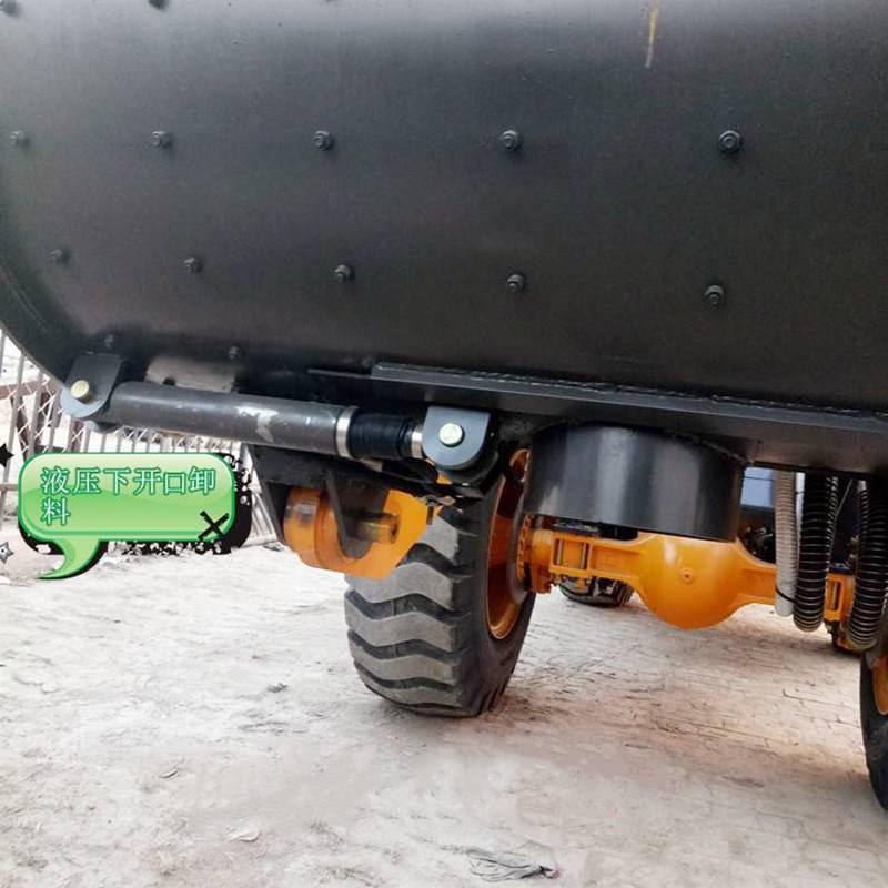 自动上料搅拌车润滑系列新款搅拌车2.6立方配置行车影像