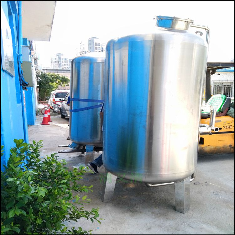 清又清直销 浦北县石英砂过滤罐体中水回用砂滤器过滤污水悬浮物