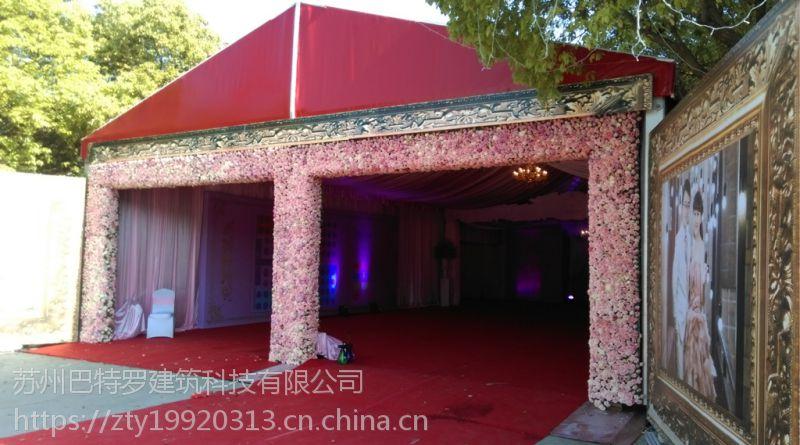 供应苏州红色婚庆大篷出租|苏州车展篷房|苏州展览展会篷房租赁15206221748