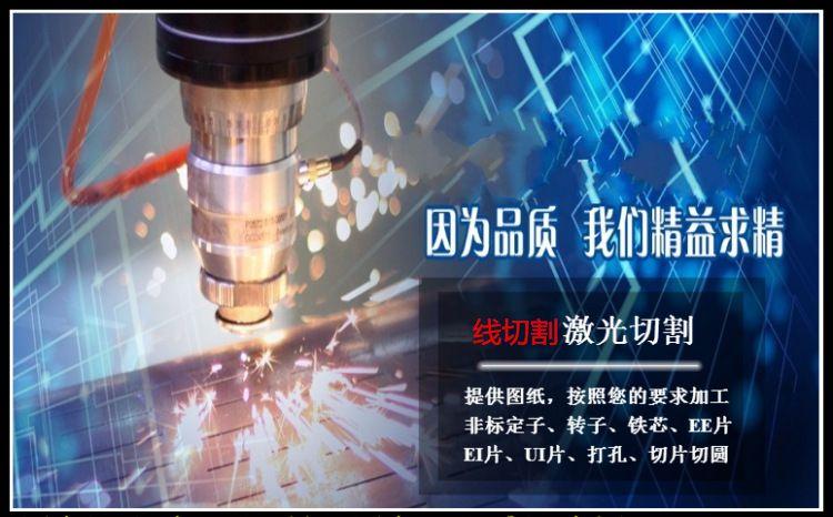 矽钢片定转子硅钢片冲压加工