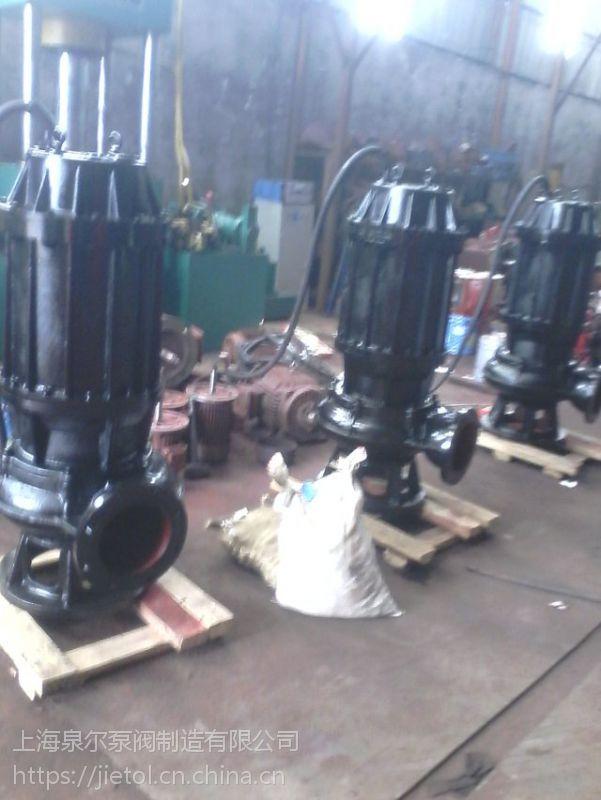 QW系列潜水排污泵100QW80-45-22KW厂家直销,立式排污泵型号参数