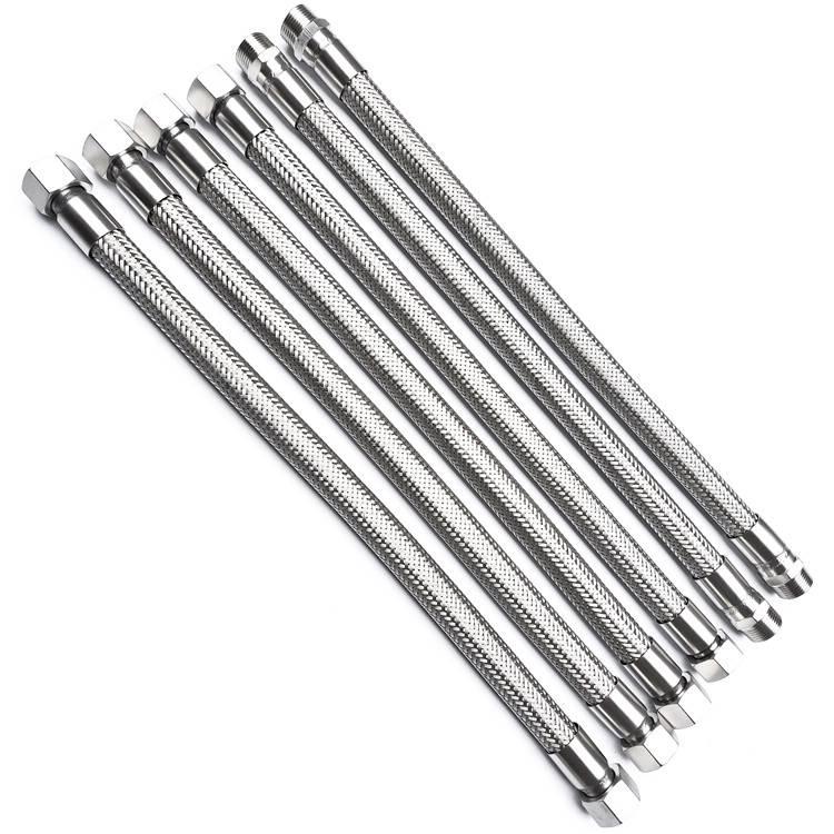 制造2寸天然气金属软管 不锈钢316L金属软连接