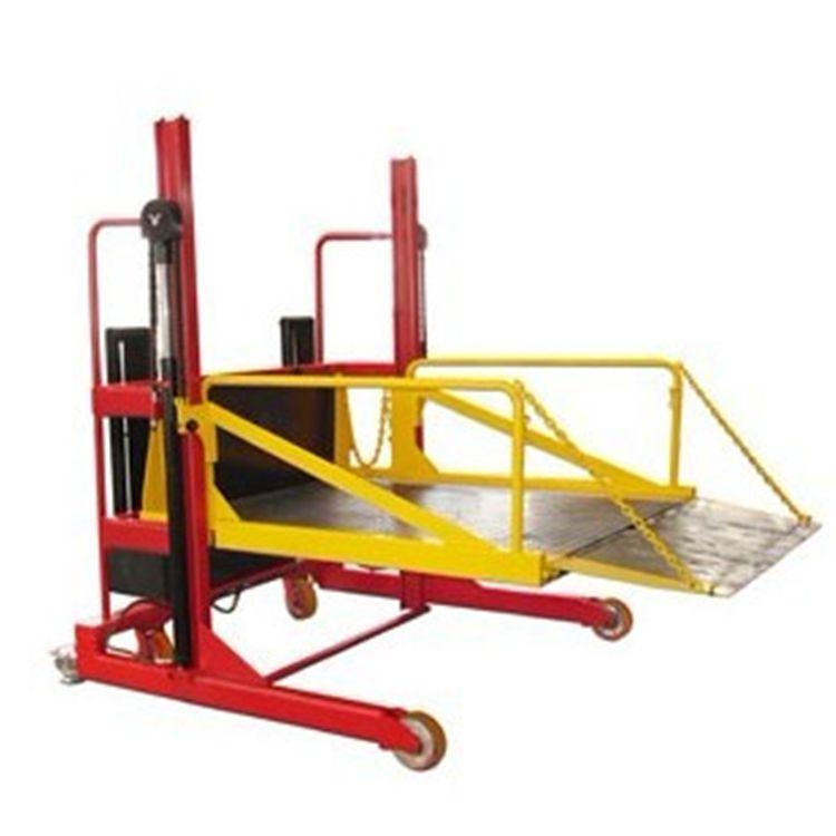 徐州厂家定制2吨移动式液压升降卸货平台 电动升降集装箱装卸货梯