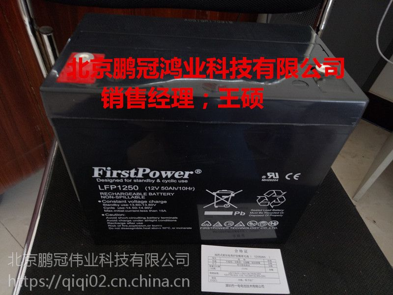 FirstPower蓄电池LFP12100电源配套