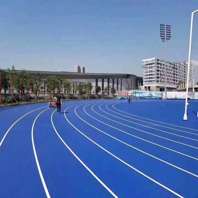 上海塑胶篮球场施工厂家 奥博排球场塑胶跑道大品牌