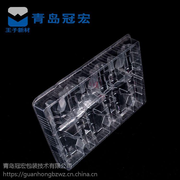 塑料透明一次性紫菜包饭外卖肉片包装盒糕点饼干吸塑盒100个包邮