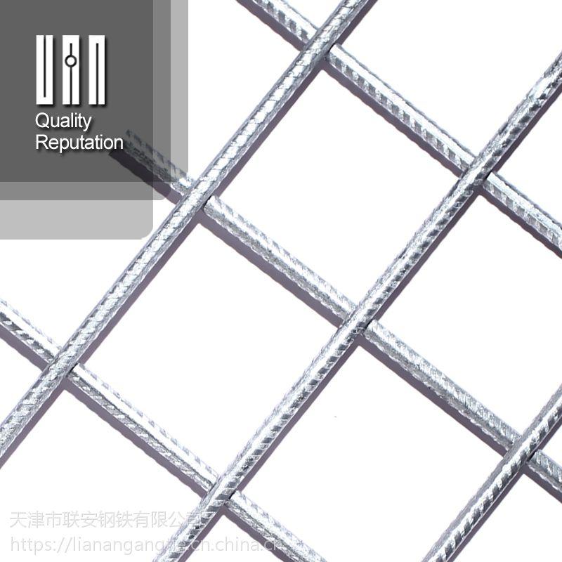 厂家直供国标10@100带肋钢筋网 护坡钢筋网