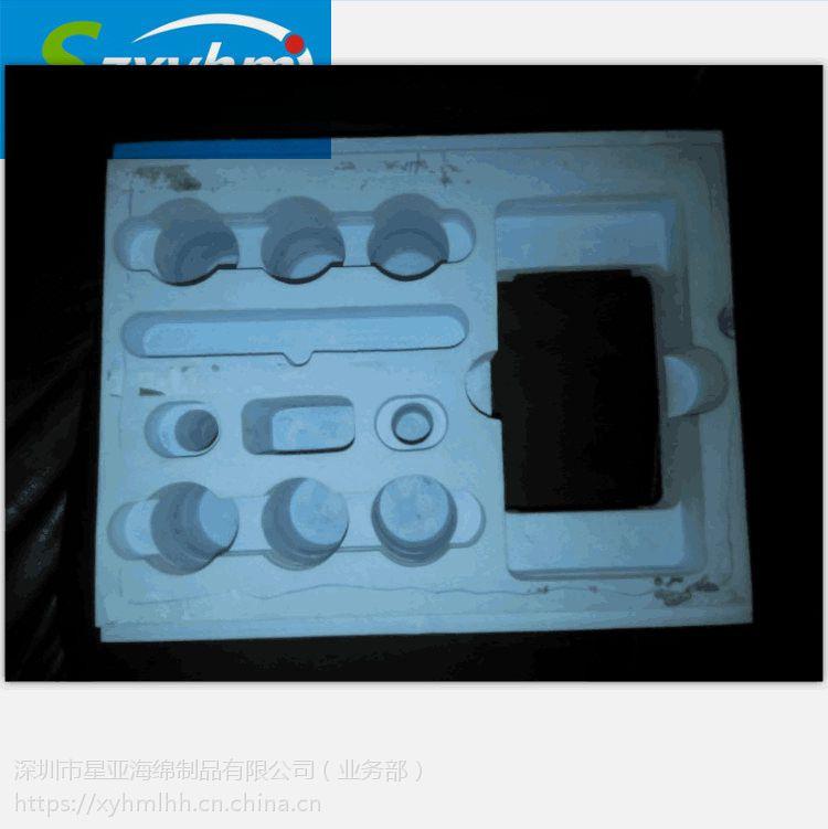 深圳EVA礼品海绵包装盒 红酒植绒防护内衬