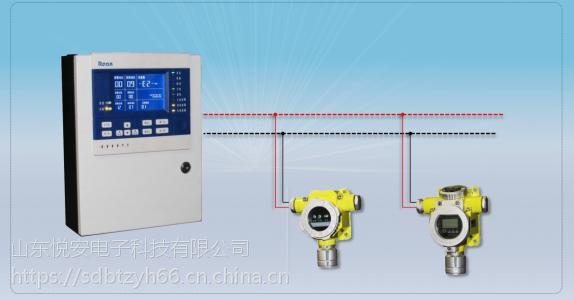 工业硫化氢气体报警器在线检测