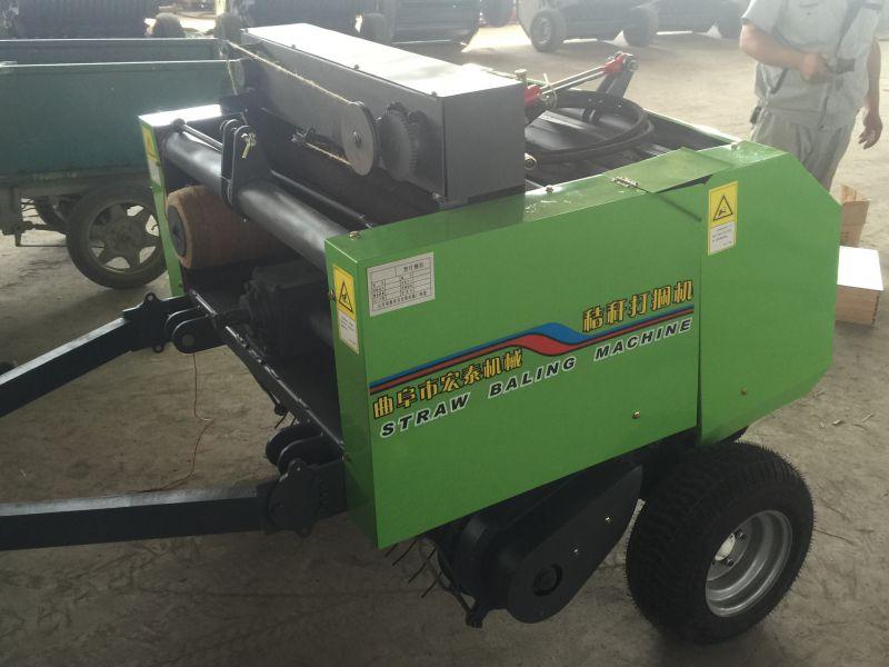 牵引式秸秆打捆机 麦秸 玉米秸秆 稻草 打捆机 高效粉碎型