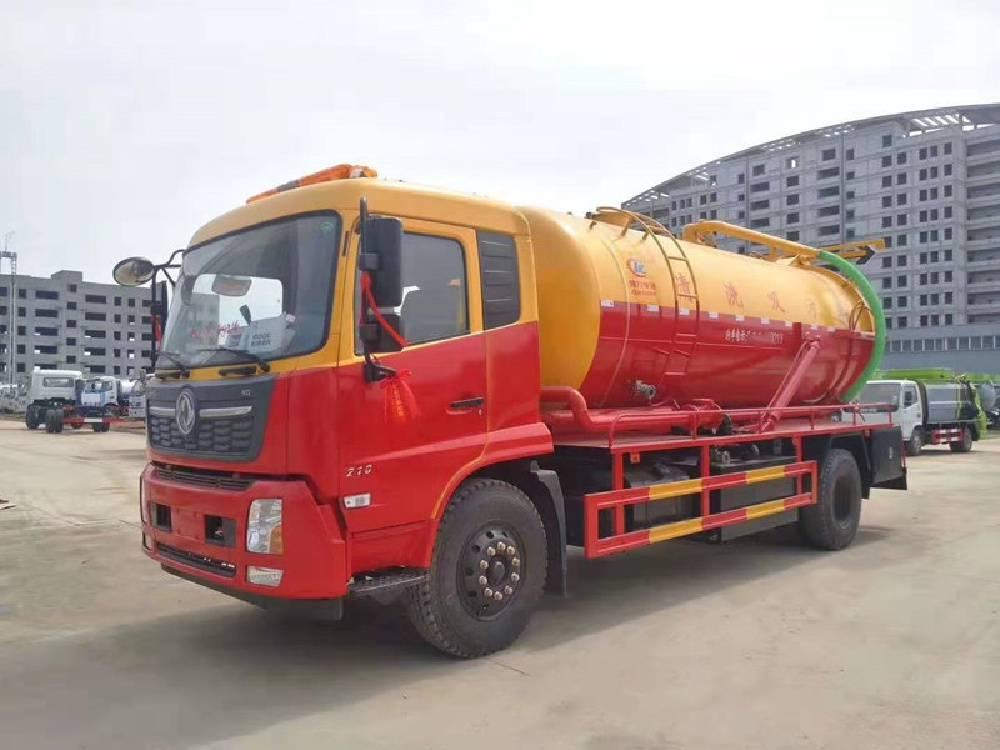 汕头东风5吨8吨吸粪车价格 吸粪车配置参数