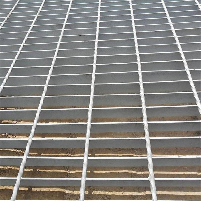 排水沟盖板施工 玻璃钢格板 道路排水地垫