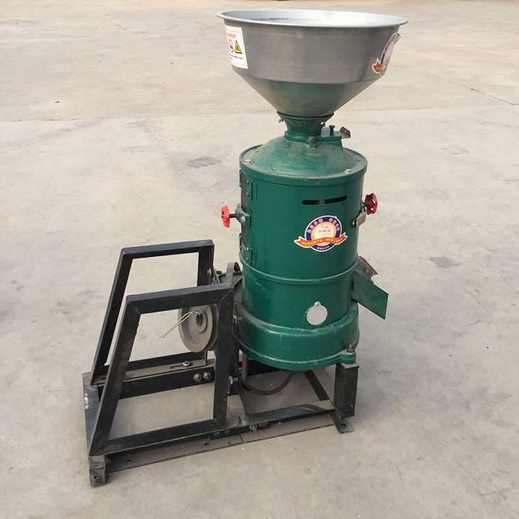 立式砂辊碾米机供应 五谷杂粮脱皮机 谷子水稻去皮机