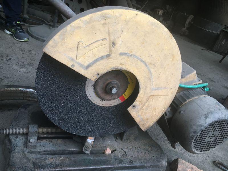 400*3.2*32树脂切割片模具钢测试