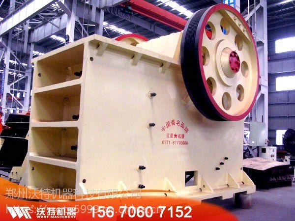 时产16-160吨的花岗岩颚式破碎机