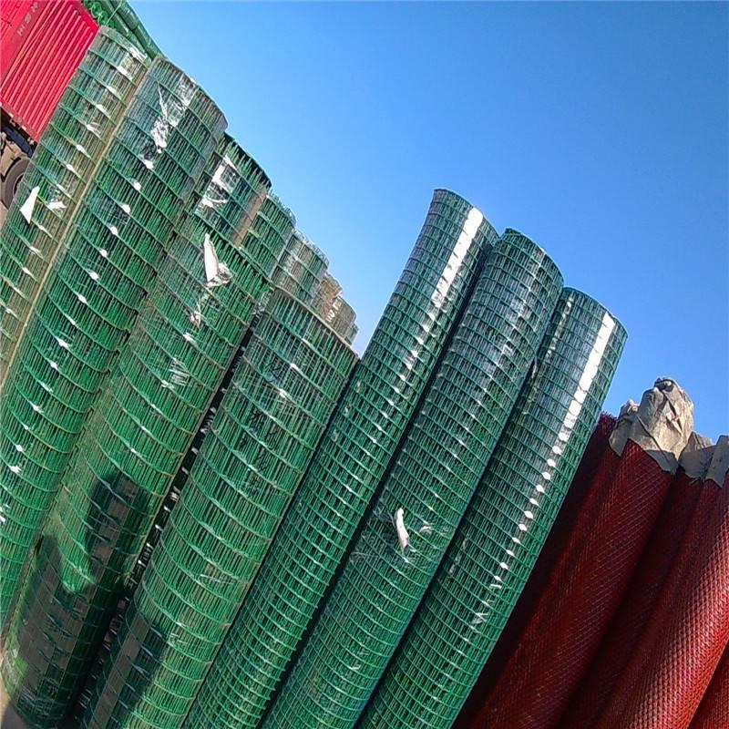 波浪护栏网 浸塑荷兰网 公路围栏