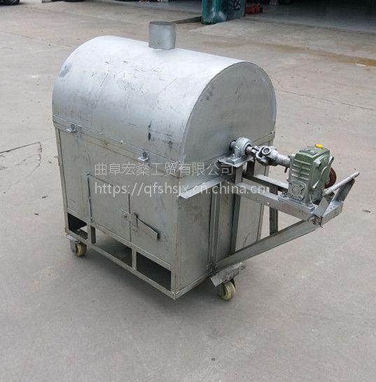 两相电炒货机新型燃气花生炒货机
