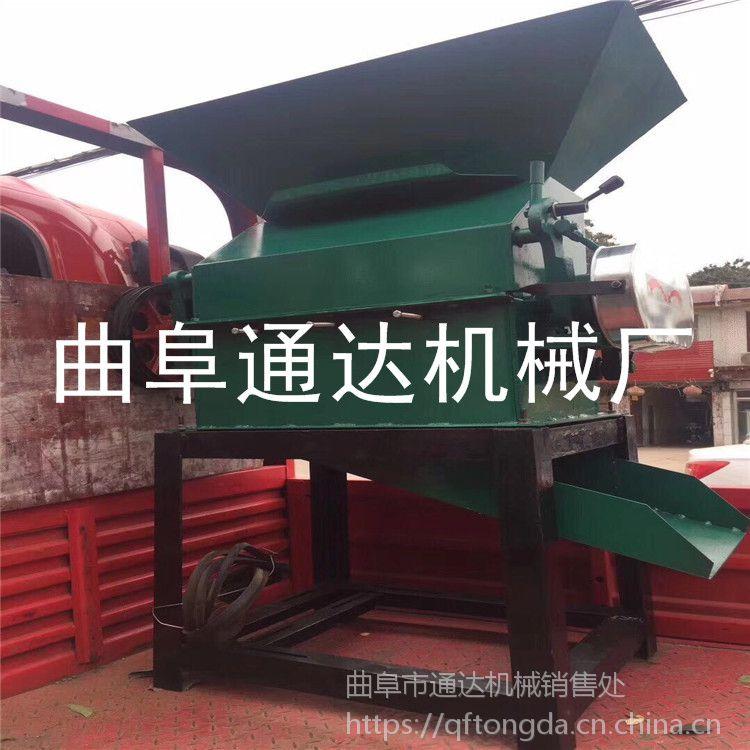 生产热销 煎饼房专用碎粒机 五谷磕瓣机 通达 油坊专用电动花生米破碎机